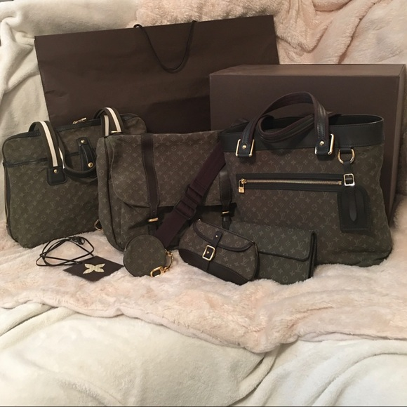 Louis Vuitton Handbags - Louis Vuitton Mini Lin/Monogram Idylle Canvas Set